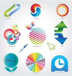 designing-elements vector image