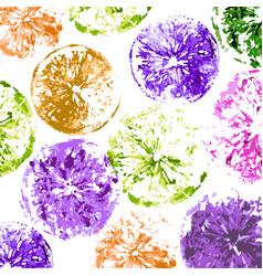 fresh lemons background vector image