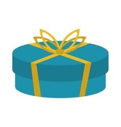 gift present bowtie design vector image