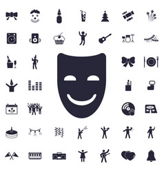 Mask icon vector