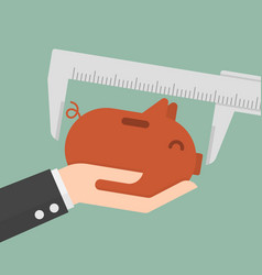 measurement saving vector image