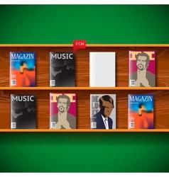Online magazines vector