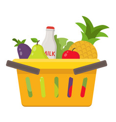 food and drink products into vector image