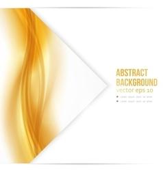 Beautiful Gold Satin vector image