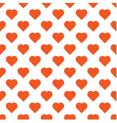 Beautiful seamless pattern with orange vector