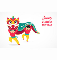 chinese new year background greeting card with a vector image