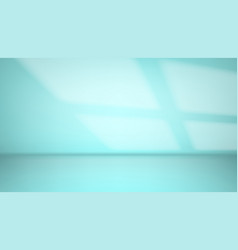clean blur light sea green abstract background vector image