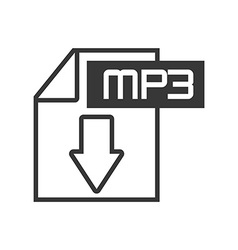 Mp3 file vector