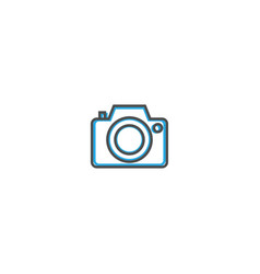 photo camera icon design essential icon vector image