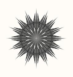 Sacred geometry 0111 vector