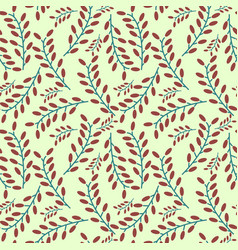 seamless dates pattern vector image