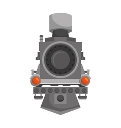 Steam locomotive vehicle vector