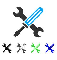 Tools flat icon vector