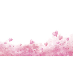 valentines day and wedding background design vector image