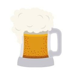 beer mug drink vector image vector image