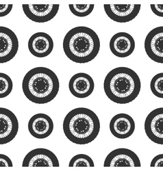 Bicycle wheels background vector image vector image