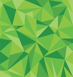 Abstract Green Triangle Geometrical Background vector