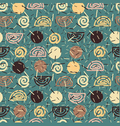 Abstract seaml confectionery pattern background vector