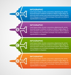 Airlines travel infographics vector