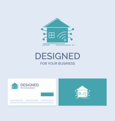Automation home house smart network business logo vector