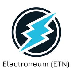 Electroneum etn crypto coi vector