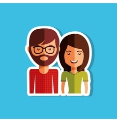 family member design vector image