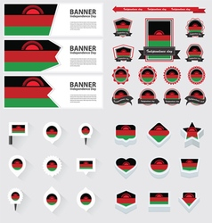Set malawi vector