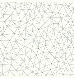 Trendy grid lines seamless pattern vector
