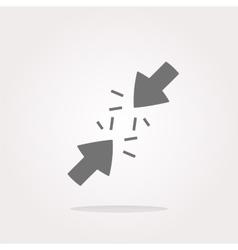 Undo Arrow Icon Redo Arrow Icon vector image vector image