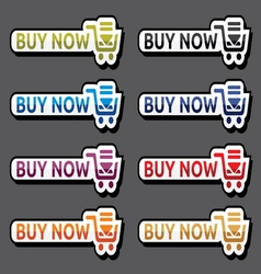 Buy now web2 vector