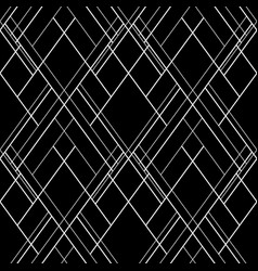 hatch seamless pattern dark abstract background vector image