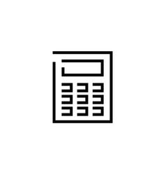 intercom flat icon vector image