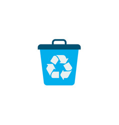recycle icon flat element of vector image