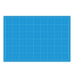 Sheet of blueprint paper royalty free vector image malvernweather