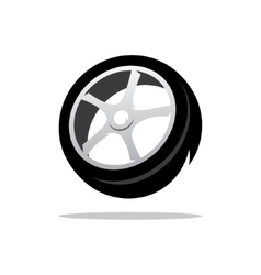 Tyre cartoon vector