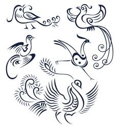bird illustration vector image vector image