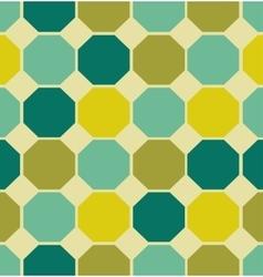 geometric polygon seamless pattern vector image vector image