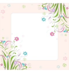Romantic scrapbooking for invitation greeting vector image vector image
