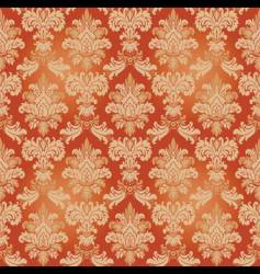 vintage wallpaper pattern vector image