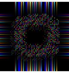 digital dsiplay vector image vector image