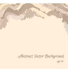 Abstract background in beige shades eps10 vector image