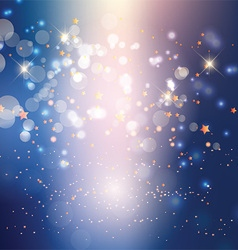 Abstract lights and stars background 0106 vector