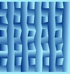 blue blurry rectangular background vector image