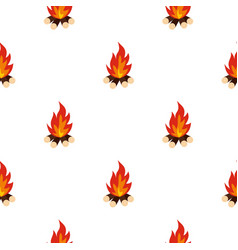 Bonfire pattern seamless vector