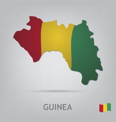 guinea vector image
