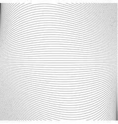 Monochrome abstract line pattern background vector