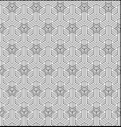 Seamless abstract pattern based on japanese vector