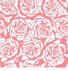 seamless floral ornamental pattern vector image