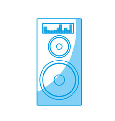speaker amplifier icon vector image