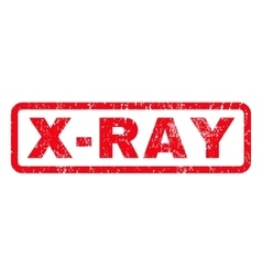 X-Ray Rubber Stamp vector